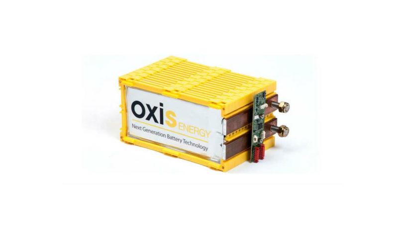 novas baterias oxis